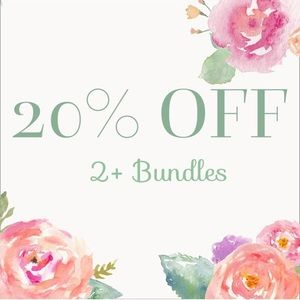 20% off 2+ items